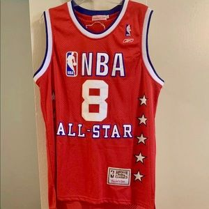 KOBE BRYANT 04 ASG JERSEY Large. Logos stitched on